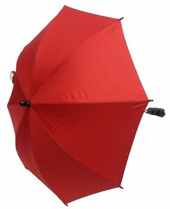 Baby Parasol Compatible with Maclaren Stroller Buggy Pram Red