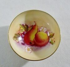 "Vintage Paragon Fine China England PEAR & GRAPES 3"" Bowl, Gold Trim MINT"
