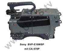 Sony BVP-E10WSP Kamera Kopf - Mit Kameraadapter CA-570P Triax Fischer