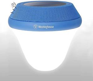 Westinghouse Solar Pool Light,Bluetooth 5W Speaker Solar Floating Lamp Change or
