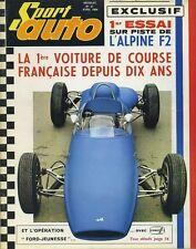 SPORT AUTO n°27 04/1964  500miles  DAYTONA ALPINE F2&F3 AC COBRA +