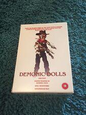 Demonic Dolls 1-4 DVD Boxset Horror Gore Dollman Like Child's Play