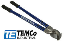 "TEMCo HEAVY DUTY 18"" 500 mcm WIRE & CABLE CUTTER Electrical Tool 240mm2 NEW"