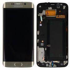 Pantalla LCD Juego Completo Táctil ORO PARA SAMSUNG GALAXY S6 EDGE G925 G925f