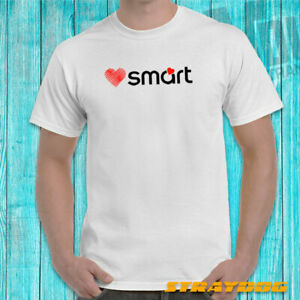 For Smart Car Fortwo, Forfour and Roadster Owners Love Smart Cotton T-Shirt