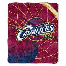 "Cleveland Cavaliers 50""x60"" Plush Throw Blanket - Sherpa Reflect Design NBA"
