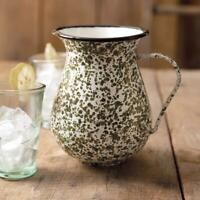Green Speckled Pitcher