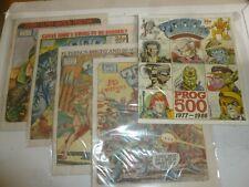 2000 AD Comic - 5 PROG JOB LOT - Progs 500 - 505 Inclusive - UK Paper Comic