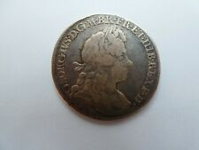 More details for scarce 1720 (20 over 17) george i half crown circa f