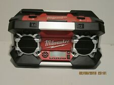 Milwaukee Radio 2790-20 12V-28Volt iPhone iPod Ready, FREE SHIP NEW DEMO/DISPLAY