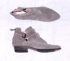 KENNEL & SCHMENGER low boots zippées cuir daim gris P 39 (6) TBE