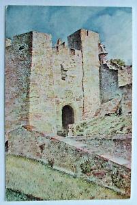 Postcard - QUEEN ELIZABETH GATE, MONT ORGUEIL CASTLE, JERSEY C. PAINE (ATUK1-22)