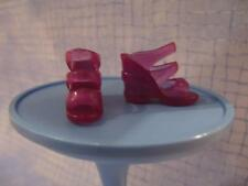 Barbie Doll pregnant MIDGE 1st Issue HAPPY FAMILY Purple Jelly Wedge Heel Shoes
