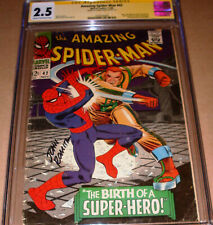 Amazing Spider-Man 42 CGC SS SIGNED John Romita Sr Marvel 1966 1st Mary Jane MJ