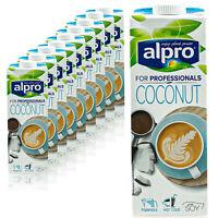 10x Alpro Kokosnuss Drink Coconut for Professionals Barista 1 L zum Aufschäumen