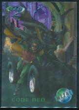 1995 Batman Forever Metal Trading Card #97 Code Red