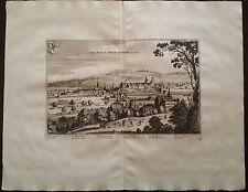 Switzerland Van Der Aa 1729 Canton Aargau Argow Brem Garten Suisse