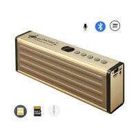 A23D 20W Bluetooth Lautsprecher Mikrofon mit TF/USB Slot, AUX-IN, FM Radio, Akku