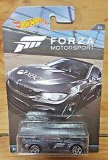 Hot Wheels 2017 FORZA MOTORSPORT 3/6 BMW M4 METALFLAKE BLACK (A+/A-)