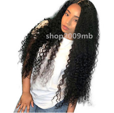 Brazilian Lace Front Wigs PrePlucked Natural Hairline Curly Hair Wig+Baby Hair