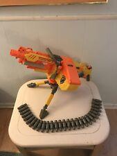 Nerf Vulcan EBF 25 Gun--Ammo Belt--Ammo Case--Tripod | TESTED