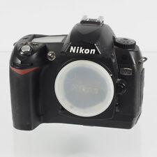 Nikon  D70 6.1MP Digitalkamera - Schwarz (Nur Gehäuse)