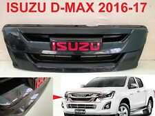ISUZU D-Max 1.9 Front Grille Grill PARTS REDLOGO STYLE Kevla film carbon 2016-17