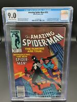 Amazing Spider-Man #252 CGC 9.0 NEWSSTAND - 1st App of Black Costume