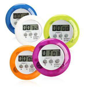Rund Magnet LCD Digital Küche Countdown Timer Alarm mit Ständer