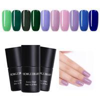 NICOLE DIARY 6ml One-step Nail Gel UV Soak Off Purple Green Blue Polish