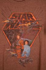Vintage Star Wars X-Wing Tie Fighter Luke Skywalker Darth Vader T-Shirt Large M