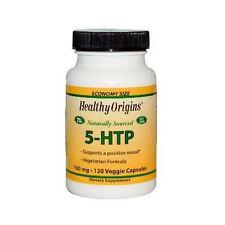 5-HTP, 100mg x 120 Veg Capsules - Healthy Origins