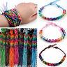 30pcs Wholesale Colorful Braid Handmade Bracelets Friendship Cords Handchain