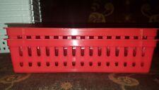 Plastic Rectangular Storage Trays Baskets Organization Bundle - Set of 2