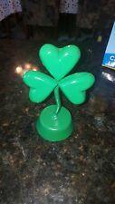 Hand made  Aluminum Clover  Irish leprechaun,mancave,st patricks day recycled