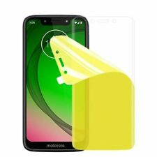 2 Pack Anti-Scratch LCD FULL Screen Protector Guard Film - Motorola Moto G7 Play