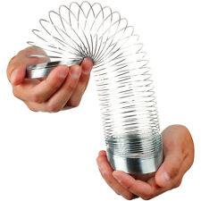 Magic Springy Slinky Metal Spring 6.5cm Dia Childrens Kids Retro Game Toy TY2168