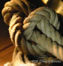 How to Tie Knots Hitches Splices & Rope Work 4 Books CD