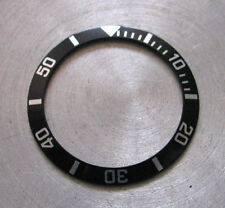 = Black BEZEL Insert made for SEIKO DIVER 7S26-0050 Automatic New