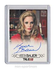 TRUE BLOOD ARCHIVES 2013 KRISTIN BAUER AUTOGRAPH