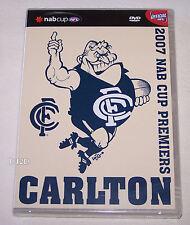 Carlton Blues 2007 AFL NAB Cup Grand Final DVD New