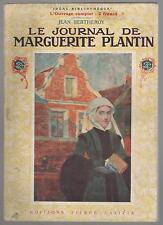 Le journal de Marguerite Plantin.Jean BERTHEROY.Pierre Lafitte 1920 CV3B