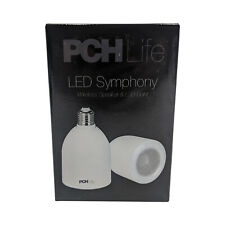 PCH Life LED Symphony Light Bulb and Bluetooth Speaker with Remote | E27 Base