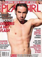 PLAYGIRL Magazine Spring 2011 Vincenzo Spring Break Hunks NYC Naked Cowboy