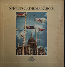 St. Paul's Cathedral Choir The Singing Boys Of Paul's (ANG 35381) LP Angel 1957