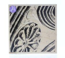 Hampton Art Romantic Art Deco Architectural Elements Wooden Rubber Stamp