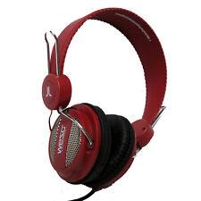 WESC Oboe Headphones - RED