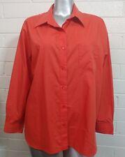 d3be7c5ba53 Plus Woman BLAIR BLOUSE SHIRT TOP Size 2XL Buttons Long Sleeve chest pocket