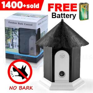 Outdoor Ultrasonic Anti Bark Control Device Stop Dog Barking Sonic Silencer Pet