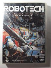 Robotech - The Macross Saga -First Contact DVD Episodes 1 - 6